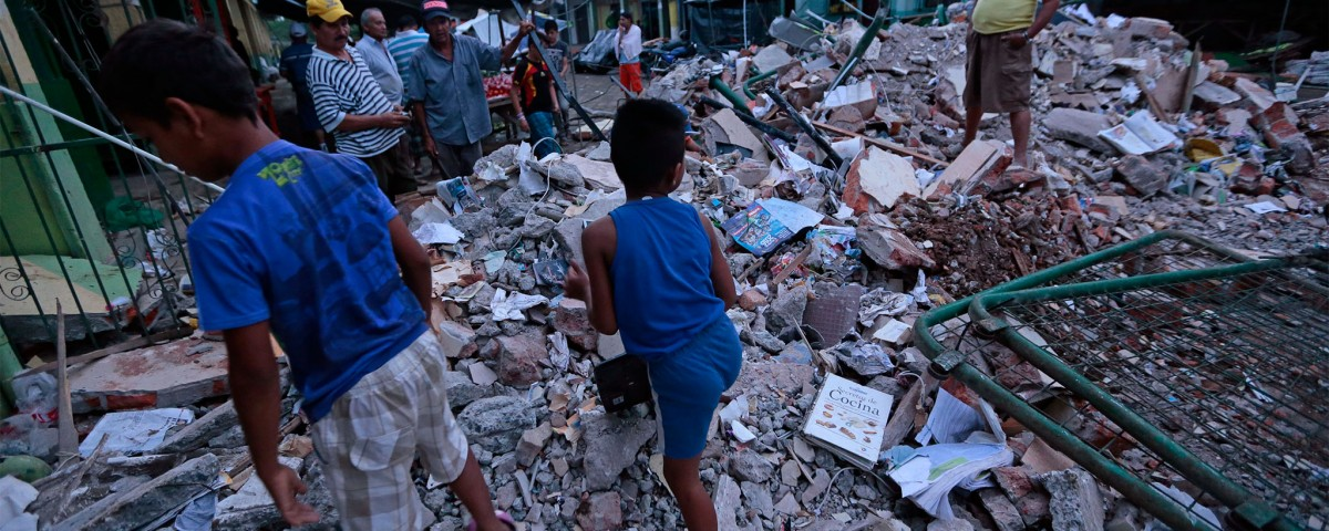 industria, terremoto, Ecuador