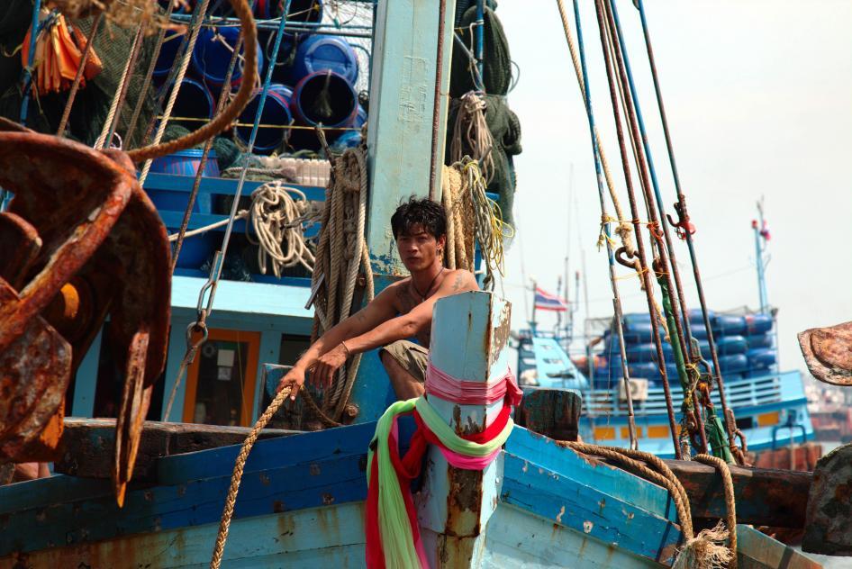 Tailandia: trabajo forzado y la trata de personas en las flotas pesqueras