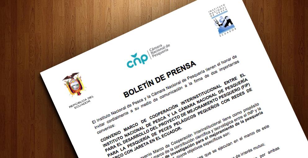 BOLETÍN DE PRENSA – Firmas Convenios –