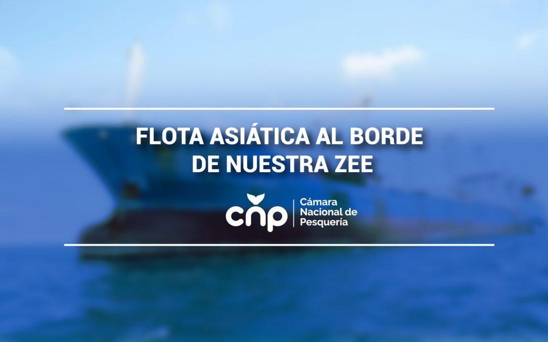 FLOTA ASIÁTICA AL BORDE DE NUESTRA ZEE