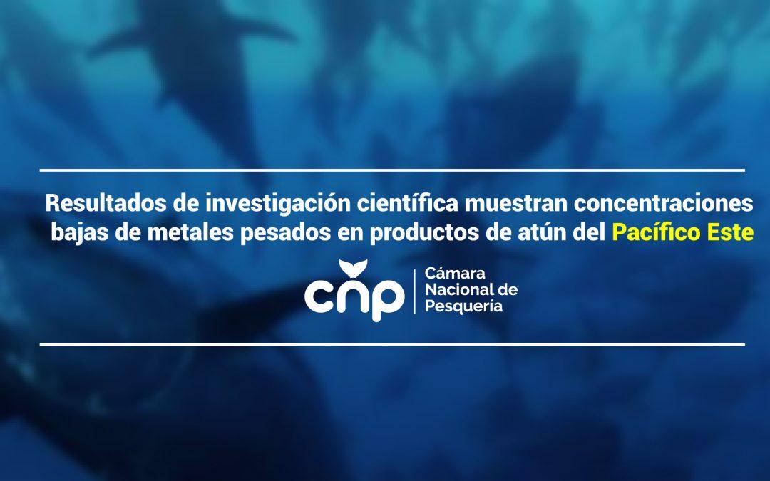 Resultados de investigación científica muestran concentraciones bajas de metales pesados en productos de atún del Pacífico Este